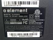 ELEMENT ELECTRONICS Flat Panel Television ELEFW3916